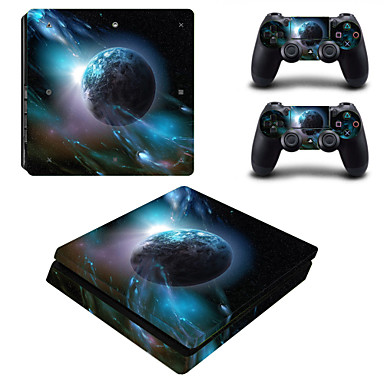 cheap PS4 Accessories-B-SKIN Sticker For PS4 Slim ,  Sticker PVC 1 pcs unit