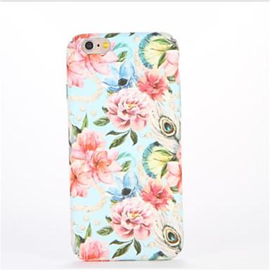 Varten Kuvio Koristeltu Etui Takakuori Etui Kukka Kova PC varten AppleiPhone 7 Plus iPhone 7 iPhone 6s Plus iPhone 6 Plus iPhone 6s