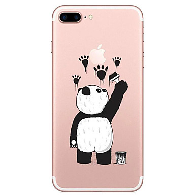 Na Przezroczyste Wzór Kılıf Etui na tył Kılıf Kreskówka Miękkie TPU na AppleiPhone 7 Plus iPhone 7 iPhone 6s Plus iPhone 6 Plus iPhone 6s