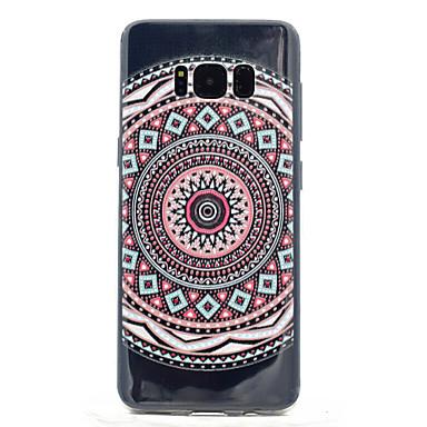 Kılıf Na Samsung Galaxy S8 Plus S8 Przezroczyste Wzór Etui na tył Mandala Miękkie TPU na S8 S8 Plus