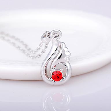 Pentru femei Coliere cu Pandativ Cristal Adorabil Personalizat Euramerican stil minimalist Bijuterii Pentru Nuntă Petrecere