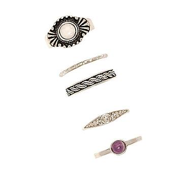 Pentru femei Vintage Modă Euramerican Aliaj Rotund Bijuterii Zilnic