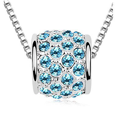 Damskie Naszyjniki z wisiorkami Kryształ Circle Shape Unikalny Modny Biżuteria Na Zaręczynowy Codzienny