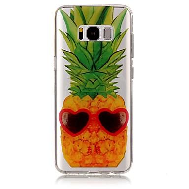 tok Για Samsung Galaxy S8 Plus S8 IMD Διαφανής Με σχέδια Πίσω Κάλυμμα Φρούτα Μαλακή TPU για S8 S8 Plus S7 edge S7 S6 edge S6 S5
