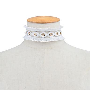Damskie Inne Spersonalizowane Kutas Modny euroamerykańskiej Ręcznie Wykonane Naszyjniki choker Biżuteria Koronka Naszyjniki choker ,