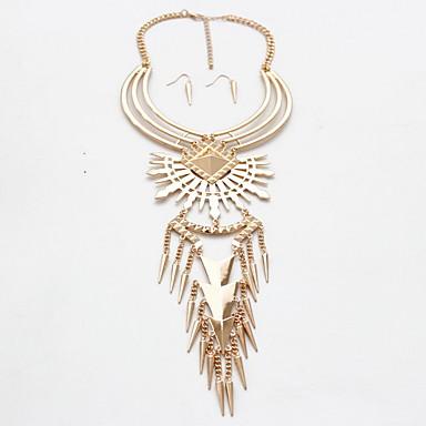 Γυναικεία Κρεμαστά Κολιέ Κοσμήματα Πετράδι Κράμα Κοσμήματα Φύση Εξατομικευόμενο Euramerican Χρυσό Ασημί Κοσμήματα Πάρτι Καθημερινά Causal