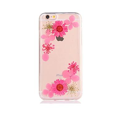 Na DIY Kılıf Etui na tył Kılıf Kwiat Miękkie TPU na AppleiPhone 7 Plus iPhone 7 iPhone 6s Plus iPhone 6 Plus iPhone 6s iphone 6 iPhone
