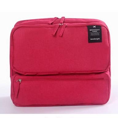 حقيبة السفر حقيبة صغيرة للكتف حقيبة كروس المحمول تخزين السفر سعة كبيرة إلى آي باد ملابس نايلون / للرجال للمرأة السفر