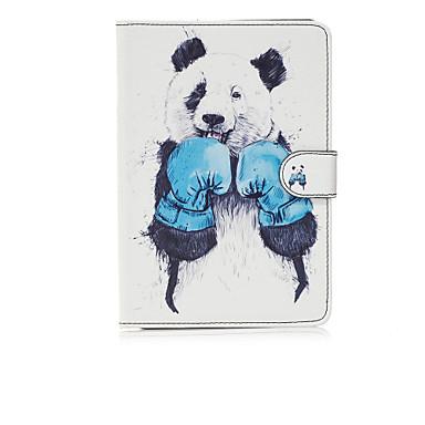 غطاء من أجل Apple آي باد ميني 4 باد البسيطة 3/2/1 حامل البطاقات محفظة مع حامل قلب نموذج غطاء كامل للجسم حيوان قاسي جلد PU إلى iPad Mini 4