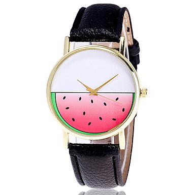 pentru Doamne Ceas La Modă Ceas de Mână Quartz Piele Bandă Cool Casual Creative Negru Alb Gri Alb Negru Gri