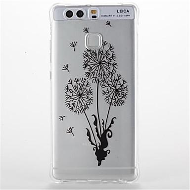 غطاء من أجل Huawei ضد الصدمات شفاف نموذج غطاء خلفي زهور ناعم TPU إلى هواوي P9 Huawei P9 Lite Huawei P8 Lite