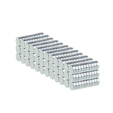 Mıknatıslı Oyuncaklar Neodymium Mıknatıs 500pcs 6*2mm Manyetik Yetişkin Hediye