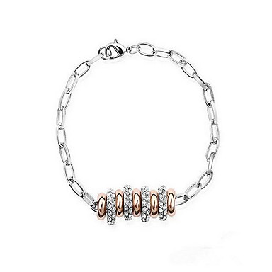 للمرأة أساور حبلا مجوهرات الصداقة موضة كريستال سبيكة Geometric Shape مجوهرات حزب عيد ميلاد هدية