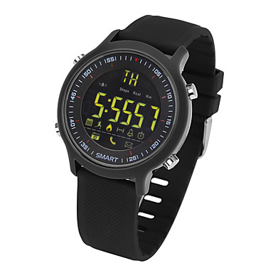 Yy ex18 akıllı bracele / smartwatch / etkinlik trackerlong bekleme / ayak izleri / çalar saat / uzaklık ios veroid iphone için izleme