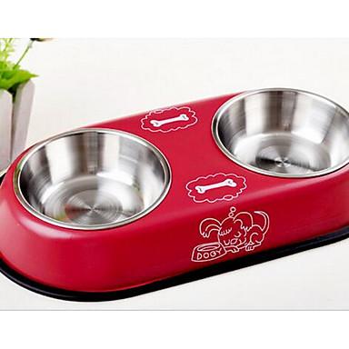 كلب مغذيات حيوانات أليفة السلطانيات والتغذية البيج أحمر