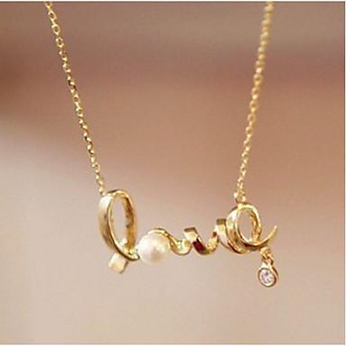 للرجال للمرأة LOVE شكل مخصص زهري مجوهرات دينية تصميم فريد موديل الزينة المعلقة كلاسيكي قديم حجر الراين أساسي مثيرة الطبيعة الصداقة