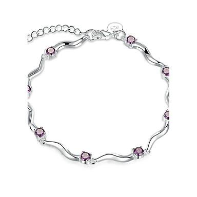 Pentru femei Fete Brățări cu Lanț & Legături Cristal Vintage Prietenie Modă Argilă Geometric Shape Bijuterii Cadouri de Crăciun Nuntă