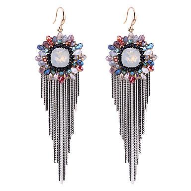 Kadın's Küpe Set Kristal Moda Kişiselleştirilmiş Euramerican alaşım Mücevher Uyumluluk Düğün Parti Doğumgünü