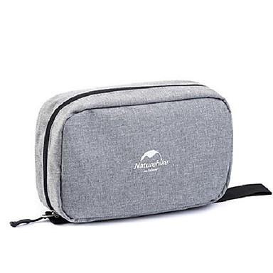 منظم أغراض السفر حقيبة مستحضرات التجميل حقيبة أدوات تجميل مقاوم للماء المحمول تخزين السفر إلى ملابس نايلون / للرجال للمرأة الخارج السفر