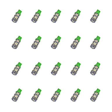 T10 لمبات الضوء 1.2 W SMD 5050 85 lm LED ضوء إشارة اللف Forعالمي