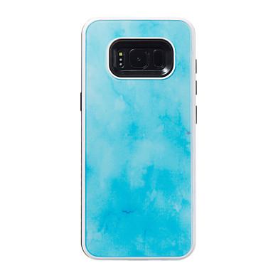 Hülle Für Samsung Galaxy S8 S7 edge Stoßresistent Muster Rückseitenabdeckung Marmor Hart PC für S8 S7 edge S7 S6 edge S6 S5