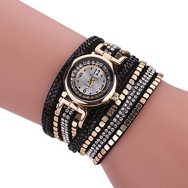 Pentru femei Ceas Brățară Ceas La Modă Ceas Casual Quartz Stras imitație de diamant Material Bandă Charm Lux Creative Casual Elegant Cool