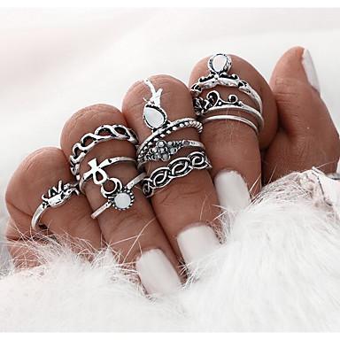 Naisten Midi-sormukset Vintage Asu Metalliseos Korut Käyttötarkoitus Päivittäin