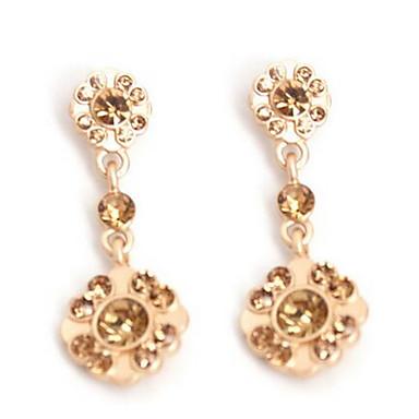 Pentru femei Cercei Picătură imitație de diamant Stil Atârnat La modă Euramerican Zirconiu Bijuterii PentruNuntă Petrecere Ocazie