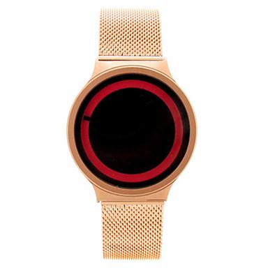 للرجال ساعات فاشن ساعة رقمية صيني كوارتز أشابة فرقة فضة ذهبي روزي