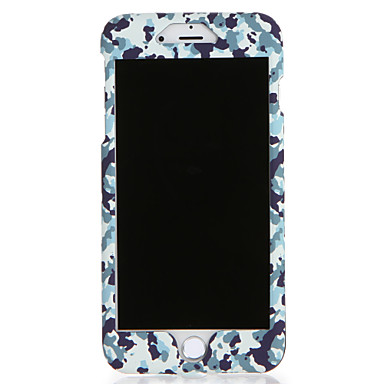 Voor apple iphone 7 7plus case cover patroon full body case camouflage kleur harde pc 6s plus 6 plus 6s 6