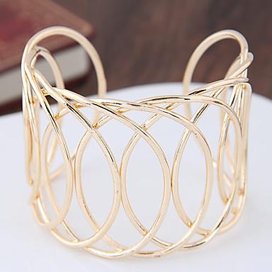 Γυναικεία Χειροπέδες Βραχιόλια Μοντέρνα Πανκ Στυλ Κράμα Geometric Shape Χρυσό Ασημί Κοσμήματα Για Πάρτι 1pc