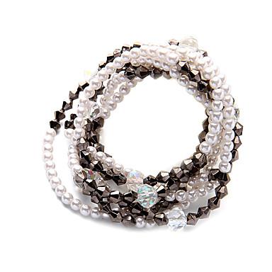 Damskie Łańcuszki na szyję Kryształ Modny Osobiste euroamerykańskiej Silver Biżuteria Na Ślub Impreza 1szt
