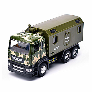 Terugtrekvoertuigen Speelgoedauto's Speeltjes Constructievoertuig Brandweerwagen Speeltjes Simulatie Automatisch Metaallegering Metaal
