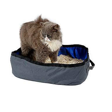 Katze Transportbehälter &Rucksäcke Training Windeln Schaufeln Wasserdicht Tragbar Klappbar Niedlich Lässig/Alltäglich