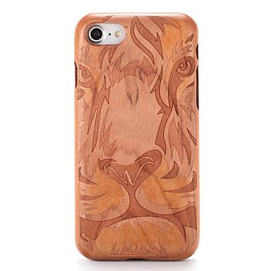 Na Etui Pokrowce Wytłaczany wzór Wzór Etui na tył Kılıf Tekstura drewna Kreskówka Twarde Drewno na AppleiPhone 7 Plus iPhone 7 iPhone 6s