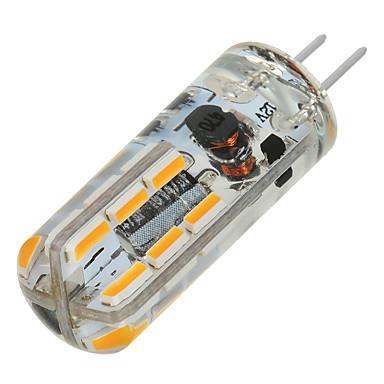 G4 أضواء LED Bi Pin T 24 المصابيح SMD 3014 أبيض دافئ أبيض كول 200-300lm 3000/6500K DC 12V