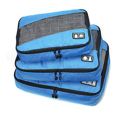 3 szt Torba podróżna Organizer podróżny do walizki Przenośny Składany Duża pojemność Pojemniki podróżne Akcesoria do walizek Trwały Odzież
