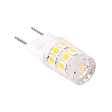 2W 230-260lm G8 LED Bi-Pin lamput T 17 LED-helmet SMD 2835 Koristeltu Lämmin valkoinen Kylmä valkoinen 110-130V