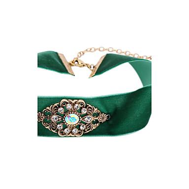 للمرأة غير منتظم شكل مخصص اسلوب لطيف قلادات ضيقة كروم قلادات ضيقة تهاني تخرج هدية مجوهرات