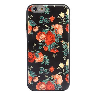 Için Kılıflar Kapaklar Süslü Temalı Arka Kılıf Pouzdro Çiçek Sert Akrilik için AppleiPhone 7 Plus iPhone 7 iPhone 6s Plus iPhone 6 Plus