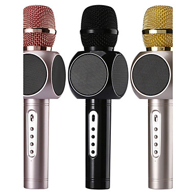 Wireless Karaoke Player Condenser Microphone with Mic Bluetooth