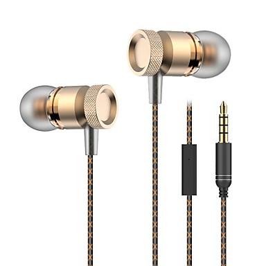 المعادن باس سماعات 3.5 ملليمتر في الأذن سماعات ستيريو سماعات دج ايفي باس سماعة لسامسونج فون زياومي