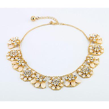 Kadın's Tellerinin Kolye Flower Shape Eşsiz Tasarım sevimli Stil Beyaz Mücevher Için Günlük 1pc