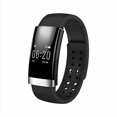 Ms01ip65 su geçirmez uyku egzersizi kalp hızı monitörü bluetooth android ios için akıllı bilezik