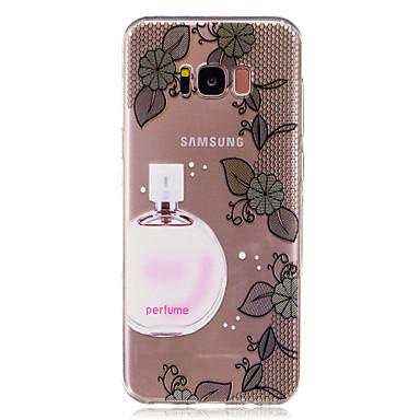 Etui Käyttötarkoitus Samsung Galaxy S8 Plus S8 Läpinäkyvä Kuvio Takakuori Sexy Lady Lace Printing Pehmeä TPU varten S8 S8 Plus S7 edge S7