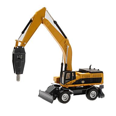 Jucării pentru mașini Model Mașină Vehicul de Construcție Încăcătoare Compacte pe Șenile Excavator Jucarii Simulare Excavator Aliaj