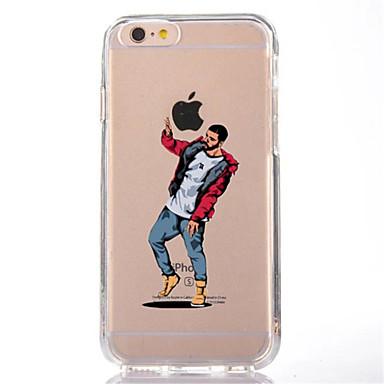 Pentru iPhone X iPhone 8 Carcase Huse Transparent Model Carcasă Spate Maska Desene Animate Moale TPU pentru Apple iPhone X iPhone 8 Plus