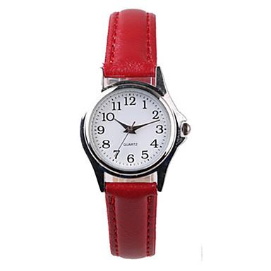 Pentru femei Ceas La Modă Quartz PU Bandă Roșu