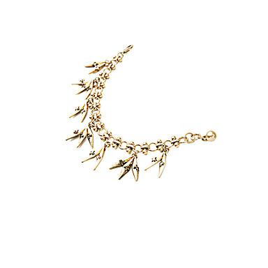 Γυναικεία Βραχιόλια με Αλυσίδα & Κούμπωμα Φιλία Μοντέρνα Κράμα Geometric Shape Κοσμήματα Για Πάρτι Γενέθλια