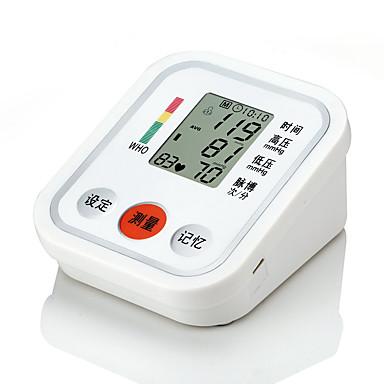 Ramienny monitor ciśnienia krwi z trzema kolorami i czytnikiem głosu